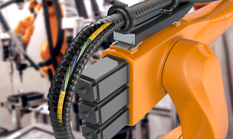 New Chainflex IO-Link Cables Ensure Reliable Communication Even Under Torsion For Energy Chains And Robots, Igus | Engineering Review